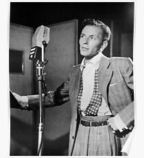Frank Sinatra Vintage Poster