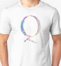 Camiseta unisex QAnon - Glitch