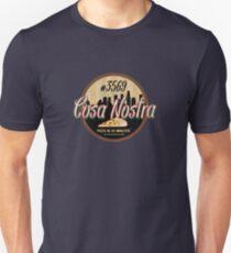 Cosa Nostra Pizza Unisex T-Shirt