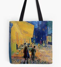 vincent, amy and the doctor Tote Bag