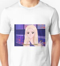 LOONA Jinsoul - Singing in the rain 90's anime Unisex T-Shirt