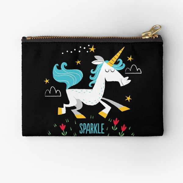Unicorn Sparkle Zipper Pouch