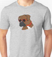 Coole Sonnenbrille Boxer Slim Fit T-Shirt