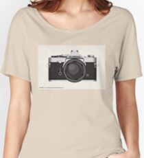 Olympus OM1 35mm slr Women's Relaxed Fit T-Shirt