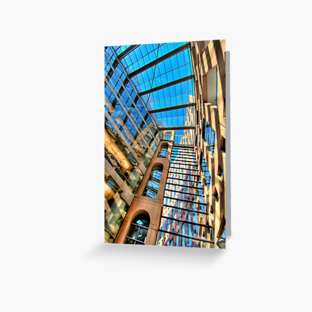 Vancouver Public Library - II Greeting Card