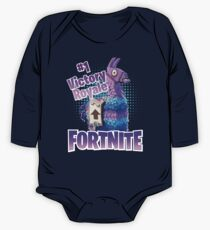 Fortnite Victory Royale Lucky Llama One Piece - Long Sleeve