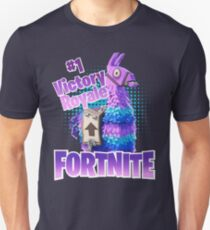Fortnite Victory Royale Lucky Llama Unisex T-Shirt