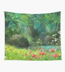 Studio Ghibli Anime Landscape Wall Tapestry