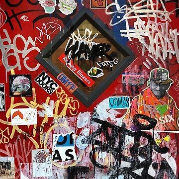 New York City Doors Graffiti by BAR-ART