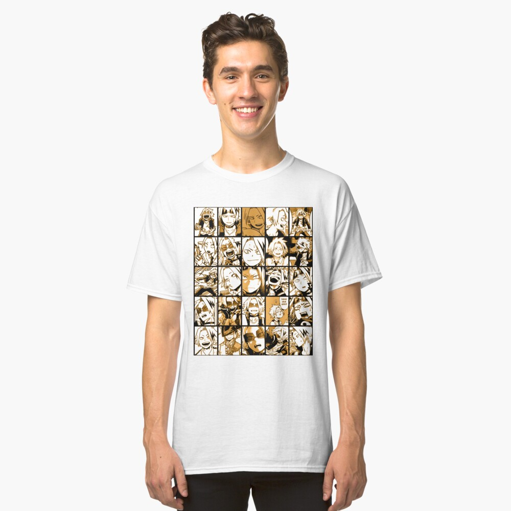 BNHA Kaminari Denki Collage Classic T-Shirt