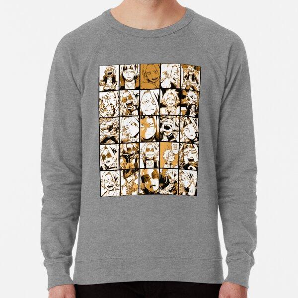BNHA Kaminari Denki collage Lightweight Sweatshirt