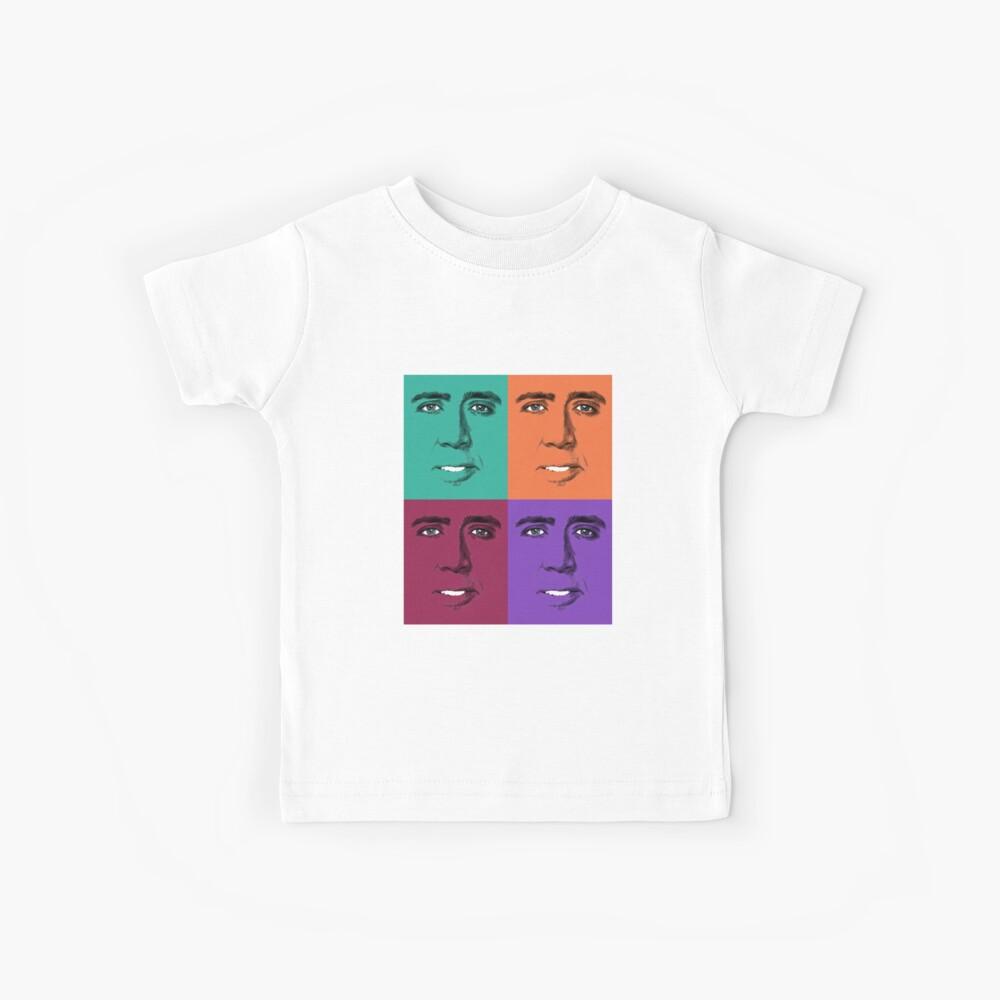 John Travolta Pop Art Kinder T-Shirt