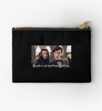 Amy and the Doctor Studio Pouch