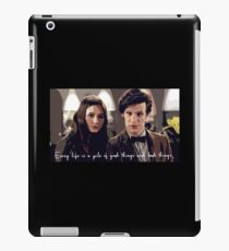 Amy and the Doctor iPad Case/Skin