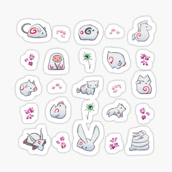 Okami mini Gods 2 (Dont buy small!) Sticker