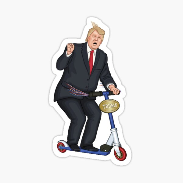 TRUMP - Scooter Sticker