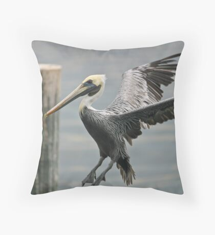 Pelican landing 2 Throw Pillow