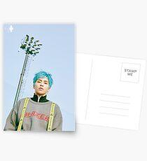 Xiumin Cbx Postcards
