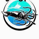 Squid by SportsT-Shirts