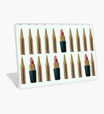 Lipsticks and Bullets Laptop Skin
