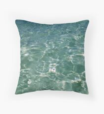 Waves and Ripples Throw Pillow