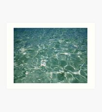 Waves and Ripples Art Print