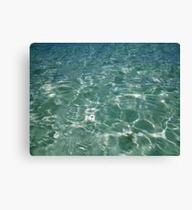 Waves and Ripples Canvas Print