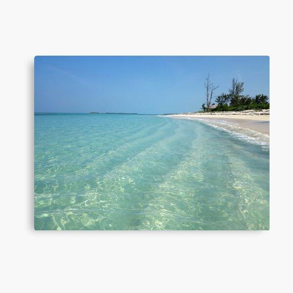 Waves of Sand - Bita Bay  Canvas Print