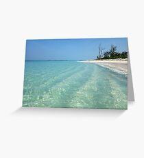 Waves of Sand - Bita Bay  Greeting Card