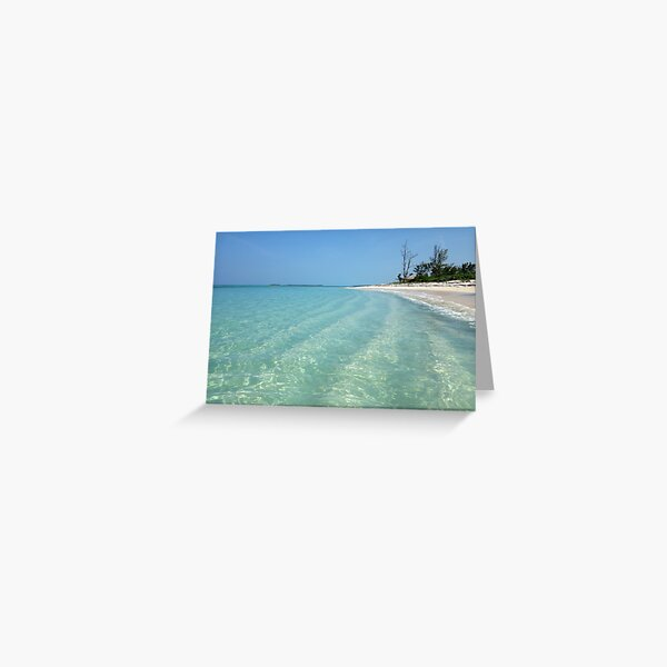 Waves of Sand - Bita Bay  Greeting Card