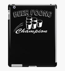 Beer Pong Champion Mens Womens Hoodie / T-Shirt iPad Case/Skin