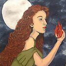 Goddess Brigid by Kellea Croft