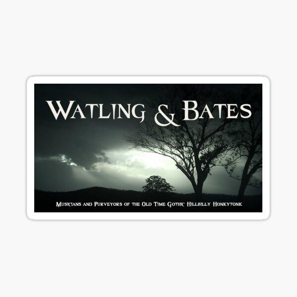 Watling & Bates Banner Sticker