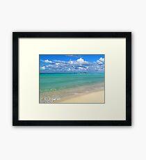 Breezy Day at Gillam Bay  Framed Print