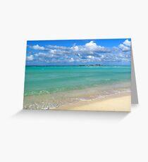 Breezy Day at Gillam Bay  Greeting Card