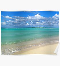 Breezy Day at Gillam Bay  Poster