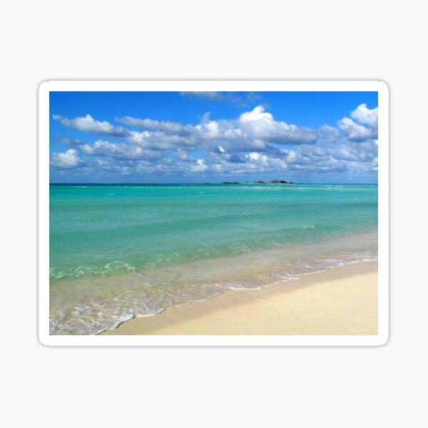 Breezy Day at Gillam Bay  Sticker