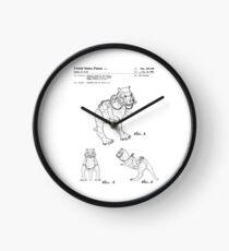 Star Wars Tauntauns Patent Black Clock