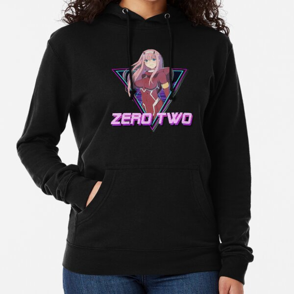 Darling in the FranXX (Zero Two Aesthetic) Lightweight Hoodie