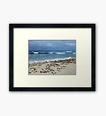 Winter Waves Framed Print