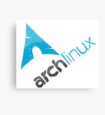 Arch Linux Logo Metal Print