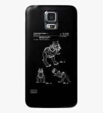 Star Wars Tauntauns Patent White Case/Skin for Samsung Galaxy