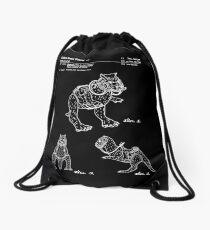 Star Wars Tauntauns Patent White Drawstring Bag
