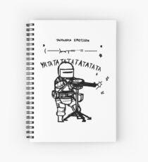 Lord tachanka emoticon Spiral Notebook