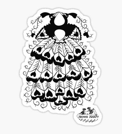 Peacock#3 Sticker