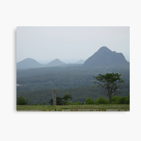 GLASS HOUSE MOUNTAINS QLD Canvas Print