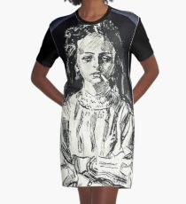 Ursula Graphic T-Shirt Dress