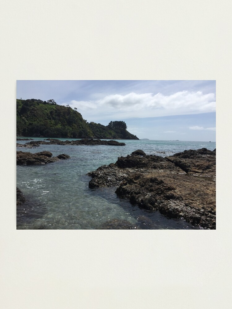 Alternate view of Palm Beach New Zealand Nature Photography Photographic Print