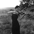 Violin Songs in Black and White by Olivia Plasencia