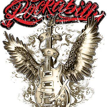 Rockabilly T-shirt by rahmenlos